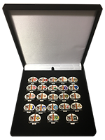Commemorative 'Back to the League' Badge Set